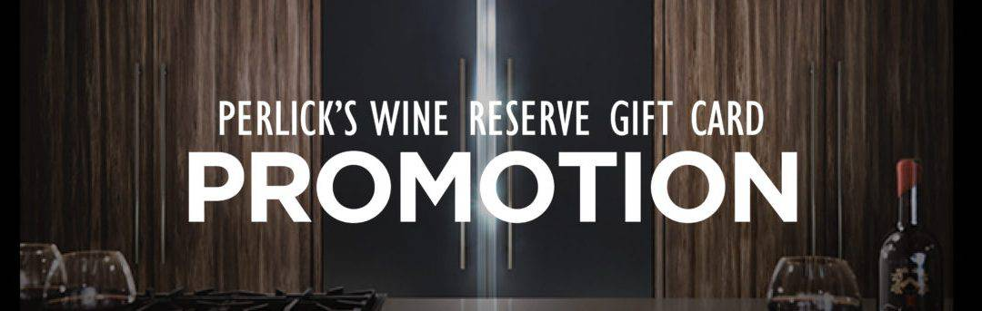 Perlick's Wine Reserve Gift Card